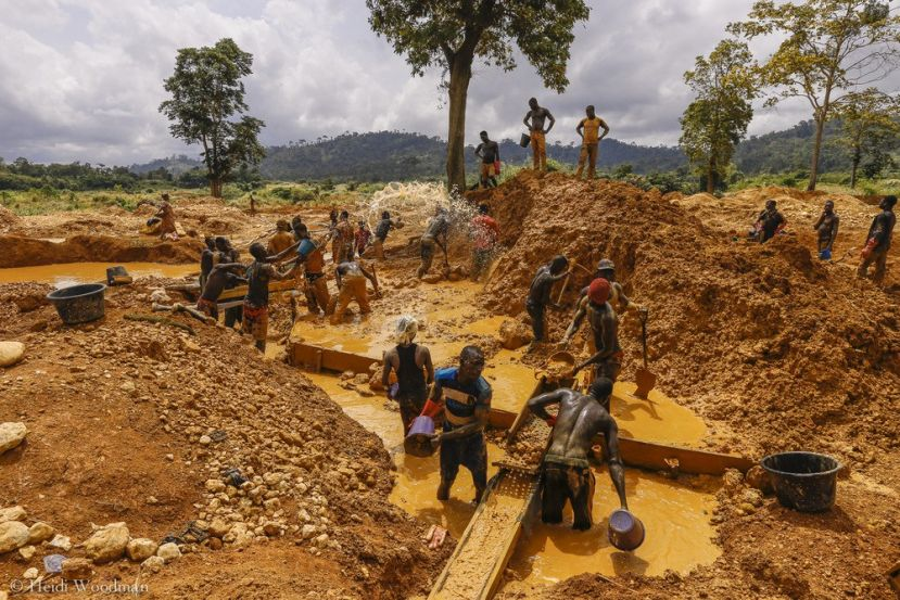 Mercury and Cyanide use is a common thing in African gold mines