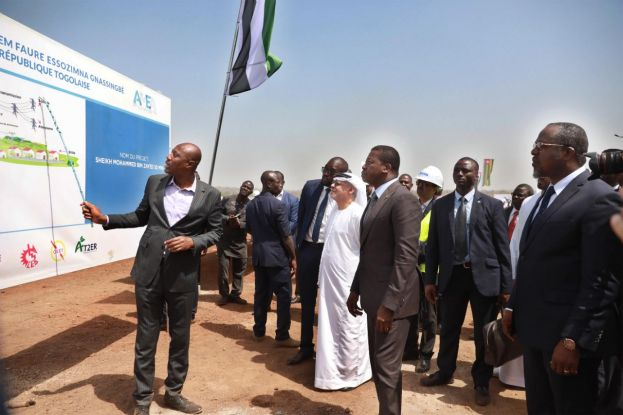 The Moyamed Bin Zayed Solar PV Complex is West Africa's largest ongoing solar PV project