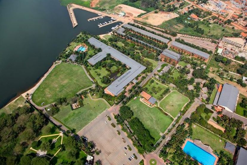 An iconic overview of Munyonyo Commonwealth Resort