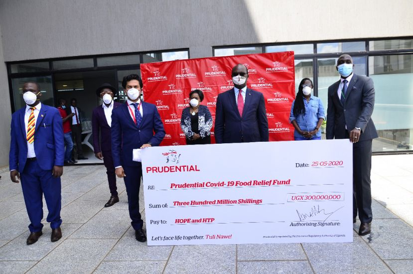Prudential said the donation will feed the most vulnerable and poor who have been greatly affected by the lockdown