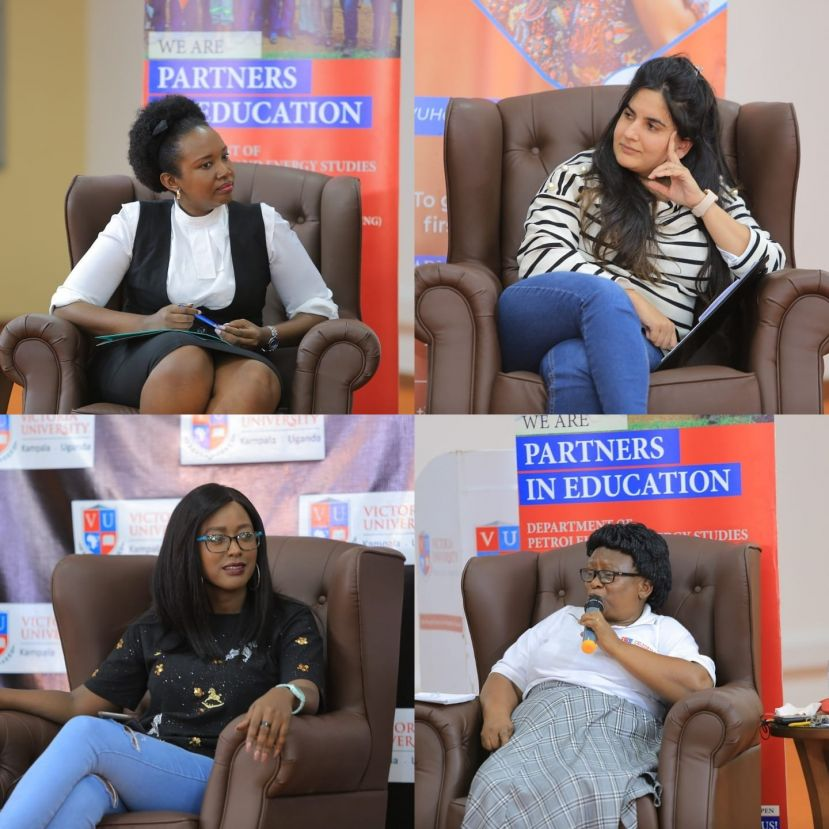 Themed 'Enhancing Women Capabilities towards development in Uganda', the show was streaming live on the Victoria University Kampala Facebook Page.