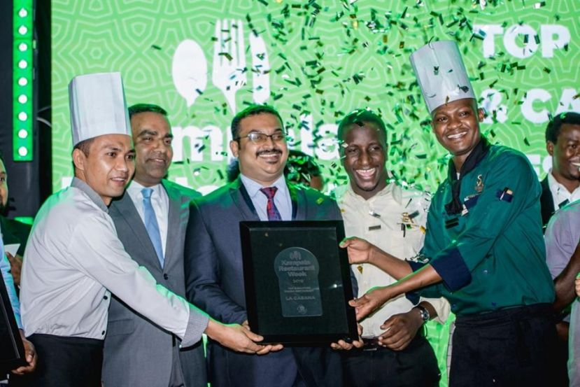 La Cabana Wins top Kampala Restaurant Week accolade