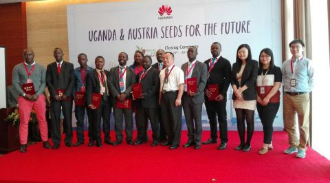 Ugandans Complete Huawei Seeds For The Future Training