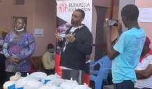Cedric Babu, Ruparelia Foundation Deliver Food Supplies To Quarantining Kampala Suburbs