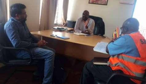 Oil Airport Contractor SBC Officials Visit Kingdom